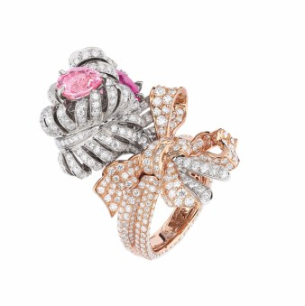 DOUBLE PANACHE SPINELLE ROSE RING (2)