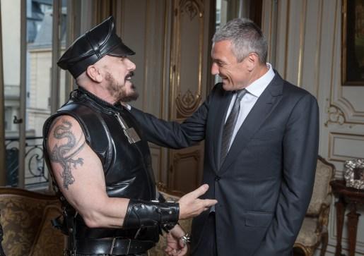 Peter MARINO. Jean-Christophe BABIN.. Bulgari Haute Couture. Paris. Italian Embassy. 07/2016 © david atlan