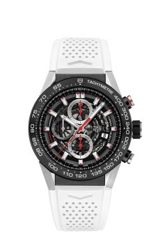 2. CARRERA HEUER-01 NEW VERSIONS 2016_PHOTOS_CAR2A1Z.FT6051 WHITE RUBBER STRAP 2016