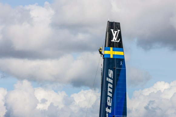 Final day of the ACWS in Gothenburg. Artemis Racing. 30th of August, 2015, Gothenburg, Sweden