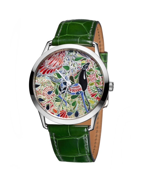 Hermes_Other new products Baselworld 2016_Slim d'Hermes Mille Fleurs du Mexique_Pictures_Product_Slim d'Hermès Mille Fleurs du Mexique®Claude Joray