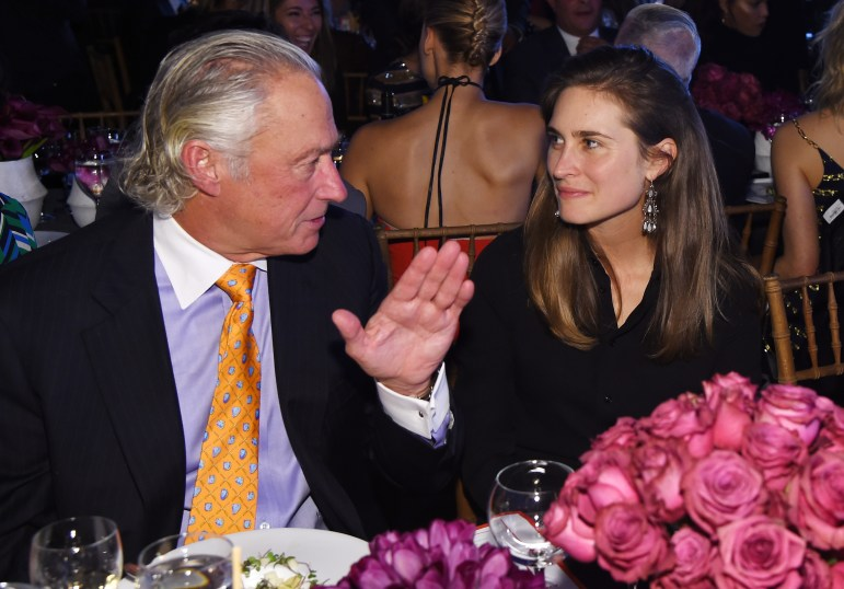 NEW YORK, NY - OCTOBER 17: Steve Simon and Lauren Bush Lauren attend the God's Love We Deliver Golden Heart Awards on October 17, 2016 in New York City. (Photo by Larry Busacca/Getty Images for Michael Kors)