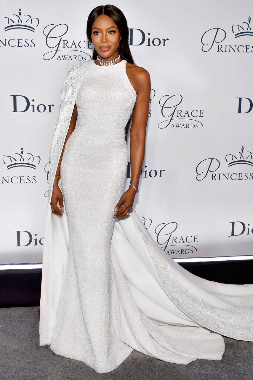 Mandatory Credit: Photo by Andrew H. Walker/WWD/REX/Shutterstock (6694153y) Naomi Campbell Princess Grace Awards Gala presented by Christian Dior Couture, Arrivals, Cipriani 25 Broadway, New York, USA - 24 Oct 2016