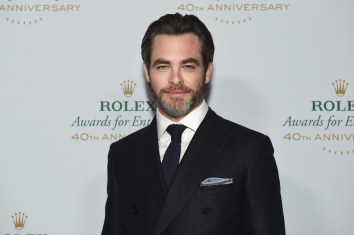 HOLLYWOOD, CA - NOVEMBER 15: Actor and presenter Chris Pine attends the 2016 Rolex Awards for Enterprise at the Dolby Theatre on November 15, 2016 in Hollywood, California. (Photo by Emma McIntyre/Getty Images for Rolex Awards for Enterprise )