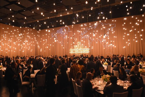 HOLLYWOOD, CA - NOVEMBER 15: General view of dining room ar the 2016 Rolex Awards for Enterprise at the Dolby Theatre on November 15, 2016 in Hollywood, California. (Photo by Emma McIntyre/Getty Images for Rolex Awards for Enterprise )