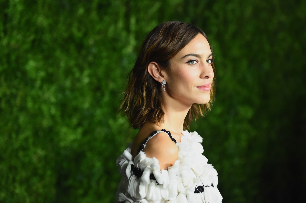 NEW YORK, NY - NOVEMBER 15: Model Alexa Chung attends the MoMA Film Benefit presented by CHANEL, A Tribute To Tom Hanks at MOMA on November 15, 2016 in New York City.  (Photo by Nicholas Hunt/WireImage) *** Local Caption *** Alexa Chung