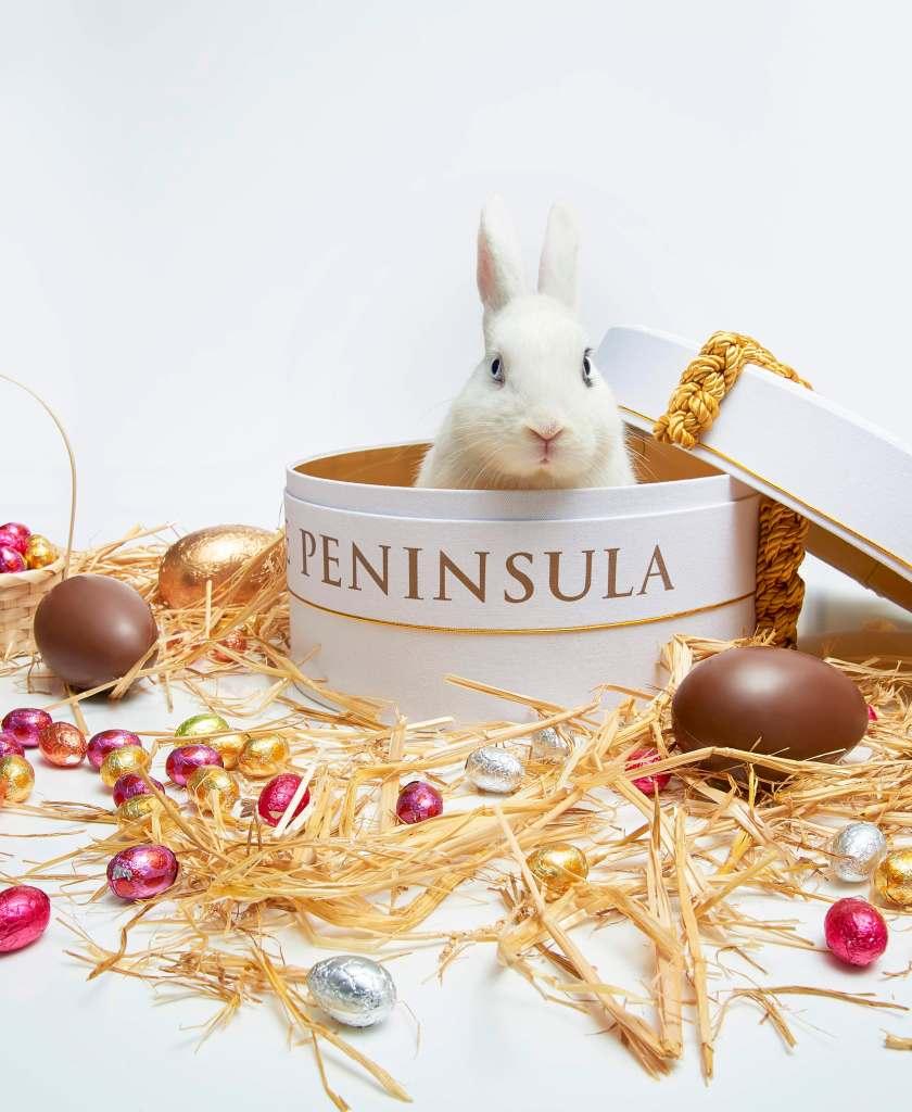 L'hôtel The Peninsula Paris dévoile son «trio d'œufs de Pâques»