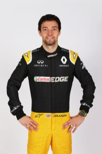 Jolyon Palmer (GBR) Renault Sport F1 Team. Renault Sport Formula One Team RS17 Launch, Royal Horticultural Society Headquarters, London, England. Tuesday 21st February 2017.