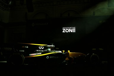 Renault Sport F1 Team RS17. Renault Sport Formula One Team RS17 Launch, Royal Horticultural Society Headquarters, London, England. Tuesday 21st February 2017.