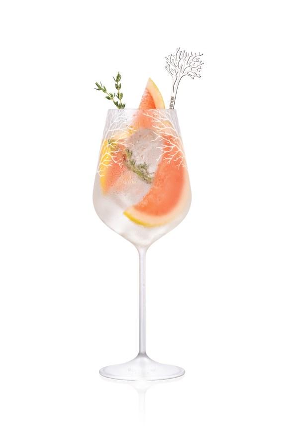 Cocktail Belvedere 2017 - Pamplemousse et thym