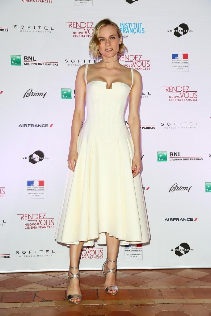 Diane Kruger en PAULE KA à Rome