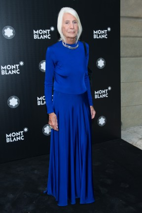 MADRID, SPAIN - MAY 04: Soledad Lorenzo attends Montblanc de la Culture Arts Patronage Award at the Madrid Palacio Liria on May 4, 2017 in Madrid, Spain. (Photo by Carlos Alvarez/Getty Images for Montblanc)
