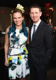 NEW YORK, NY - MAY 17: Katie Dinan and Mclain Ward attend the Longines Masters launch party celebrating Series' epic move to New York at Salon de Ning on May 17, 2017 in New York City. (Photo by Astrid Stawiarz/Getty Images for Longines)