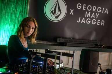VOLCOM X GEORGIA MAY JAGGER party for the presentation of the VOLCOM collection at the Puebla venue, in Paris, France, 01 June 2017.