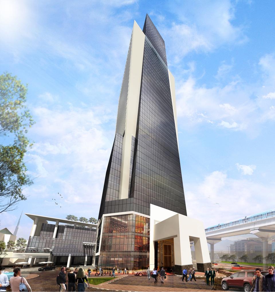 Signature du plus grand hôtel Sofitel au Moyen-Orient : Sofitel  Dubaï Wafi.