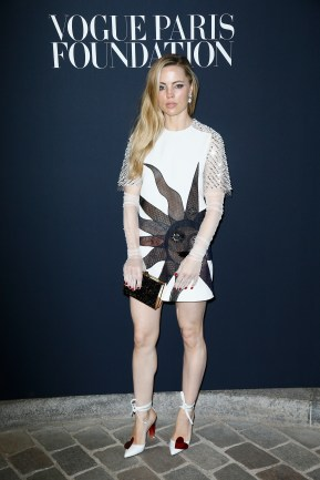 PARIS, FRANCE - JULY 04: Melissa George attends the Vogue Foundation Dinner during Paris Fashion Week as part of Haute Couture Fall/Winter 2017-2018 at Musee Galliera on July 4, 2017 in Paris, France. (Photo by Julien Hekimian/Getty Images for Vogue) *** Local Caption *** Melissa George