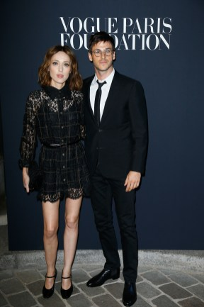PARIS, FRANCE - JULY 04: (L-R) Gaelle Pietri and Gaspard Ulliel attend the Vogue Foundation Dinner during Paris Fashion Week as part of Haute Couture Fall/Winter 2017-2018 at Musee Galliera on July 4, 2017 in Paris, France. (Photo by Julien Hekimian/Getty Images for Vogue) *** Local Caption *** Gaelle Pietri;Gaspard Ulliel
