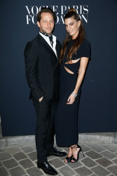 PARIS, FRANCE - JULY 04: (L-R) Derek Blasberg and Bianca Brandolini dÕadda attends Vogue Foundation Dinner during Paris Fashion Week as part of Haute Couture Fall/Winter 2017-2018 at Musee Galliera on July 4, 2017 in Paris, France. (Photo by Julien Hekimian/Getty Images for Vogue) *** Local Caption *** Derek Blasberg;Bianca Brandolini dÕadda