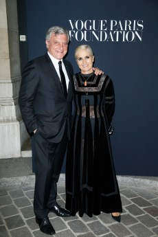 PARIS, FRANCE - JULY 04: (L-R) Sidney Toledano and Maria Chiuri attend the Vogue Foundation Dinner during Paris Fashion Week as part of Haute Couture Fall/Winter 2017-2018 at Musee Galliera on July 4, 2017 in Paris, France. (Photo by Julien Hekimian/Getty Images for Vogue) *** Local Caption *** Sidney Toledano;Maria Chiuri