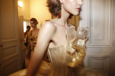 Guo Pei FW17-18 Couture- Backstage 132