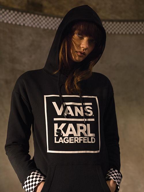 Vans karl lagerfeld annoncent collaboration pour l'automne 2017