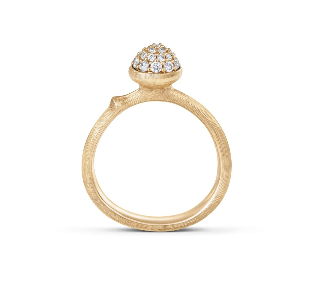 LA MAISON OLE LYNGGAARD COPENHAGEN ENRICHIT SA COLLECTION LOTUS D'UNE NOUVELLE BAGUE LOTUS TINY