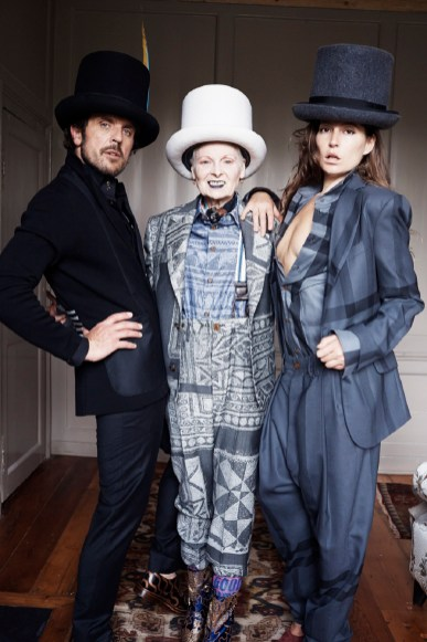 Autumn Winter 2014 Collection, Vivienne Westwood's house, London