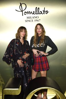 MILAN, ITALY - SEPTEMBER 21: Stefania Billiato and Lucrezia Buti attend Iconica. Pomellato 50th Anniversay party during Milan Fashion Week Spring/Summer 2018 on September 21, 2017 in Milan, Italy. (Photo by Venturelli/Getty Images for Pomellato) *** Local Caption *** Stefania Billiato;Lucrezia Buti
