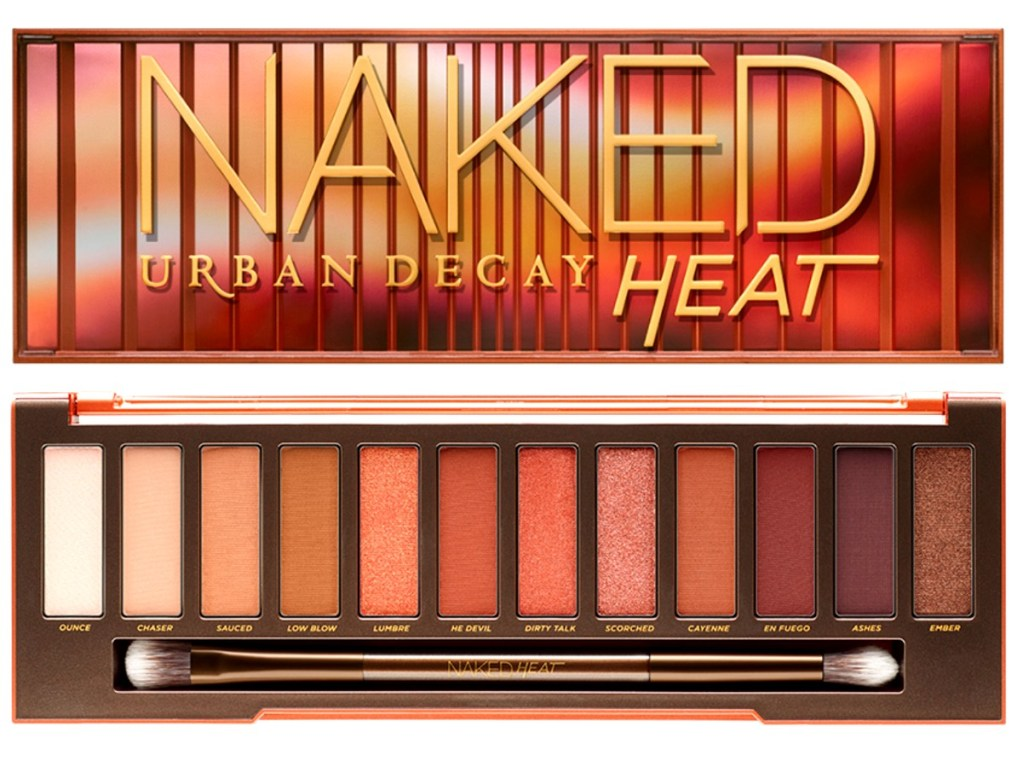 Naked Heat la palette la plus hot d'Urban Decay