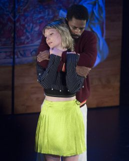 "Opening Ceremony and American Express Platinum present ""Changers"", A Dance Story, Written and Directed by Spike Jones, Starring Mia Wasikowska and Lakeith Stanfield. La Mama, Sunday, September 10, 2017. Credit Photo: Erin Baiano"