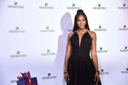 MILAN, ITALY - SEPTEMBER 20: Naomi Campbell attends Swarovski Crystal Wonderland Party on September 20, 2017 in Milan, Italy. (Photo by Jacopo Raule/Getty Images for Swarovski) *** Local Caption *** Naomi Campbell