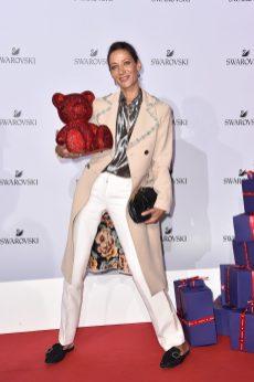 MILAN, ITALY - SEPTEMBER 20: Marpessa Hennink attends Swarovski Crystal Wonderland Party on September 20, 2017 in Milan, Italy. (Photo by Jacopo Raule/Getty Images for Swarovski) *** Local Caption *** Marpessa Hennink