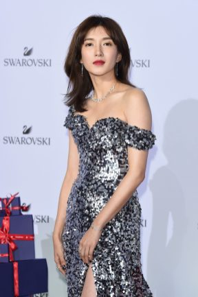 MILAN, ITALY - SEPTEMBER 20: Maggie Jian attends Swarovski Crystal Wonderland Party on September 20, 2017 in Milan, Italy. (Photo by Stefania M. D'Alessandro/Getty Images for Swarovski) *** Local Caption *** Maggie Jian