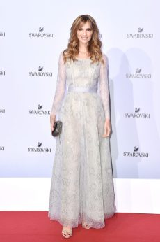 MILAN, ITALY - SEPTEMBER 20: Gaia Bermani Amaral attends Swarovski Crystal Wonderland Party on September 20, 2017 in Milan, Italy. (Photo by Jacopo Raule/Getty Images for Swarovski) *** Local Caption *** Gaia Bermani Amaral