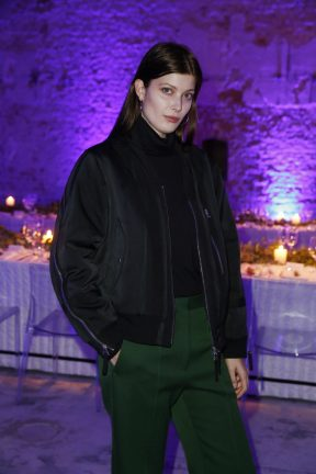 BERLIN, GERMANY - OCTOBER 11: Larissa Hofmann attends the Moncler X Stylebop.com launch event at the Musikbrauerei on October 11, 2017 in Berlin, Germany. (Photo by Sebastian Reuter/Getty Images for Moncler X Stylebop.com) *** Local Caption *** Larissa Hofmann