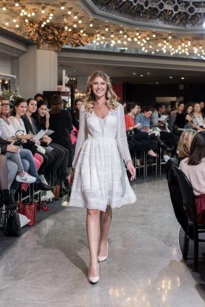 Look 2 - Robe Frankie, Rembo Styling (exclusivité) 1725€ au PRINTEMPS MARIAGE