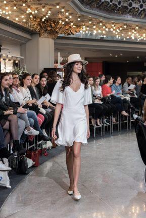 Look 3 - Robe Céline de Monicault (exclusivité) 995€ au PRINTEMPS MARIAGE