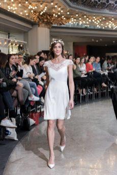 Look 9 - Robe Trianon, Harpe en exclusivité pour PRINTEMPS MARIAGE 550€