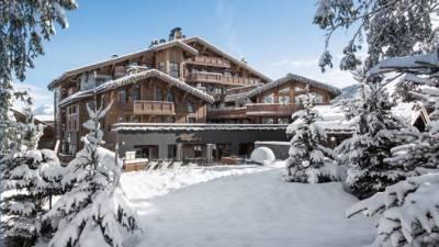L'Hôtel Barrière Les Neiges Courchevel