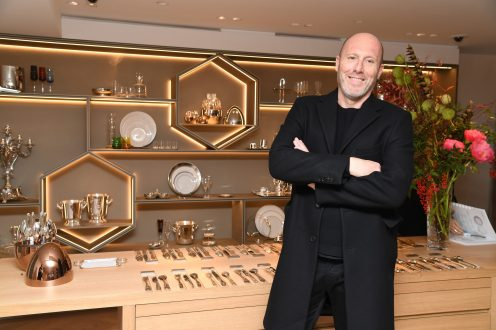 PARIS, FRANCE - NOVEMBER 23: Christophe Pillet attends Christofle Saint-Honore Boutique Opening on November 23, 2017 in Paris, France. (Photo by Pascal Le Segretain/Getty Images for Christofle) *** Local Caption *** Christophe Pillet