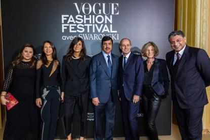 Carol Sabbagha, Delphine Royant, Emmanuelle Alt, Abdul Aziz Al Rabban, Xavier Romatet, Evelyn de Croutte, Feras Al Yasin