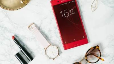 L'Xperia XZ Premium Rosso, un nouveau coloris rouge vibrant