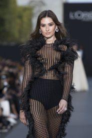 Taliana Vargas wearing Chopard High Jewellery