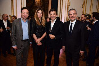 Emmanuel Perrotin, Lauréna Vergani, Yannick Alléno, Ricardo Guadalupe