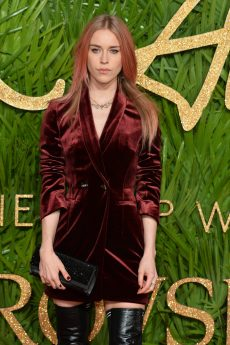 LONDON, ENGLAND - DECEMBER 04: Lady Mary Charteris attends The Fashion Awards 2017 in partnership with Swarovski at Royal Albert Hall on December 4, 2017 in London, England. (Photo by Jeff Spicer/BFC/Getty Images)