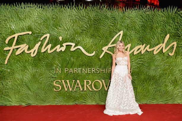 attends The Fashion Awards 2017 in partnership with Swarovski at Royal Albert Hall on December 4, 2017 in London, England.