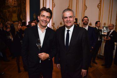 Yannick Alléno et Ricardo Guadalupe
