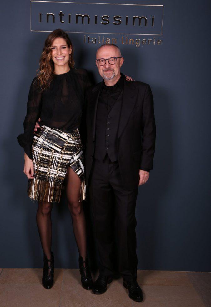 laury thilleman et sandro veronesi CEO calzedonia (2)