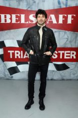 LONDON, ENGLAND - JANUARY 08: Andres Velencoso attends the Belstaff AW18 Mens & Womens Presentation during London Fashion Week Men's January 2018 on January 8, 2018 in London, England. (Photo by Darren Gerrish/WireImage) *** Local Caption *** Andres Velencoso
