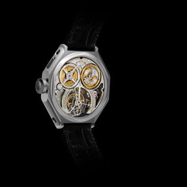 Chronomätre Ferdinand Berthoud FB 1R.6-1 - Caseback 1 - Black Background